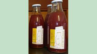 jus de pommes-cerises (1L)