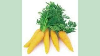 Jeunes carottes jaunes